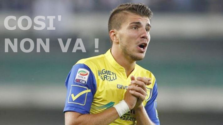 Chievo vs Inter persa per demeriti